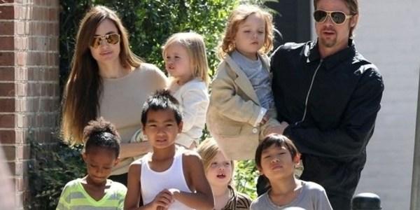 Brad Pitt vê os filhos pela primeira vez desde o divórcio, diz revista