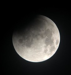 Partial Lunar Eclipse Stacked