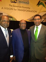 """Ron with Andrew Holness and Ed Bartlett • <a style=""""font-size:0.8em;"""" href=""""http://www.flickr.com/photos/95310279@N08/16281227472/"""" target=""""_blank"""">View on Flickr</a>"""
