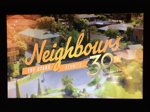 Today is all about...Neighbours' 30th