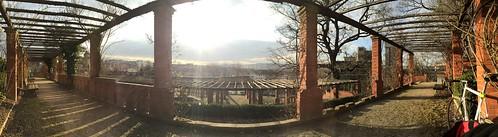 Mein neuer #Arbeitsplatz @# #VillaBerg #0711 #Stuttgart #Panorama