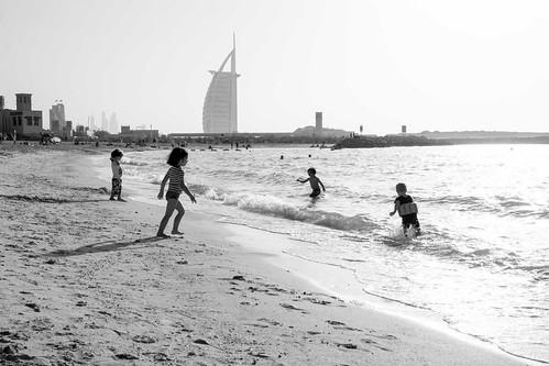 La plage...