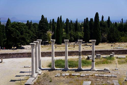 Kos - L'Asclépiéion (sanctuaire de guérison, consacré au dieu Asclépios)