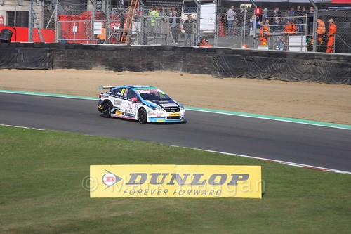 Tom Ingram during the BTCC Brands Hatch Finale Weekend October 2016