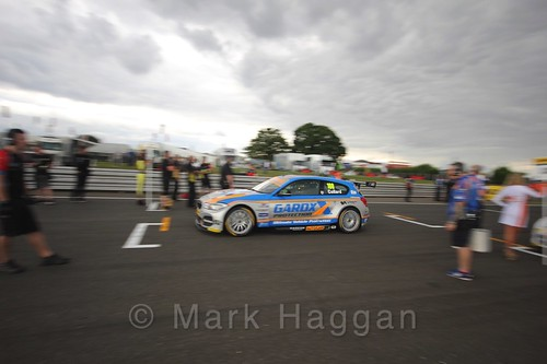 Rob Collard's car during the Grid Walks at the BTCC 2016 Weekend at Snetterton