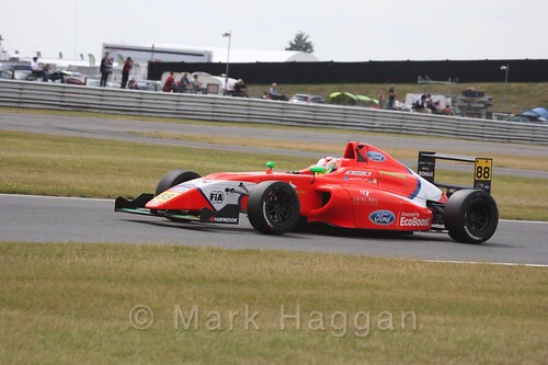 Jack Martin in British Formula 4 during the BTCC 2016 Weekend at Snetterton