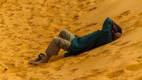 Entspannung im Sand