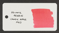 Private Reserve Candy Apple Red - Word Card