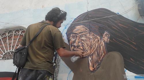 BAU 2011 - Charquipunk y la Brigada Negotrópica  en proceso