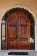Custom Luxury Home - front door