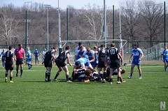 "Bombers vs KC Blues • <a style=""font-size:0.8em;"" href=""http://www.flickr.com/photos/76015761@N03/16426175554/"" target=""_blank"">View on Flickr</a>"