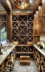 Villa Belle - wine cellar