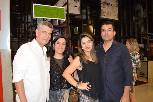 Marquinhos e Suely Paiva, Juliana e Marcelo Lana