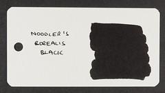 Noodler's Borealis Black - Word Card