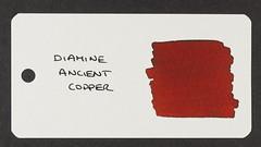 Diamine Ancient Copper - Word Card
