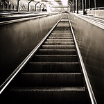 """Sometimes you just have to wait, to take a pause, to reflect. Decisions. #escalator #rulltrappa #sundbyberg #subway #tunnelbana #stockholm #mystockholm #sweden #iphone5s <a style=""""margin-left:10px; font-size:0.8em;"""" href=""""http://www.flickr.com/photos/131645797@N05/17173281657/"""" target=""""_blank"""">@flickr</a>"""