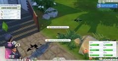 Les Sims 4 au travail : policier