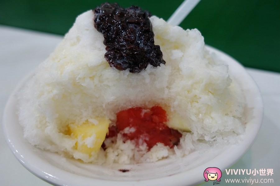 [台中.美食]♡冰品特輯♡美村點頭冰~充滿南洋風情的新鮮水果冰.只營業半年的限定銅板美食 @VIVIYU小世界