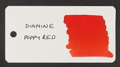 Diamine Poppy Red - Word Card