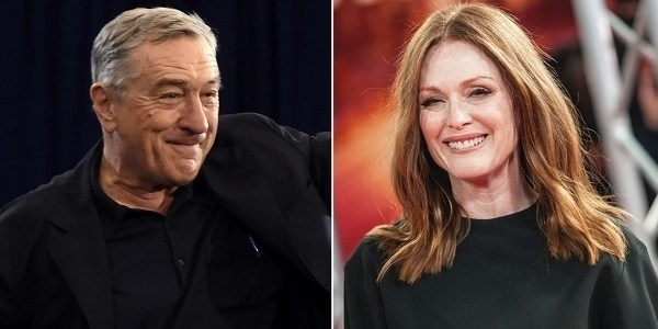 Robert De Niro e Julianne Moore se unem para lançar séries em agosto