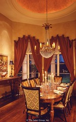 Custom Luxury Home - dining room