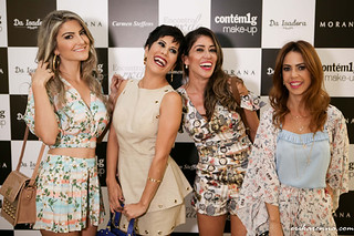 Gabriela Cabral, Nathália Chaves, Aline Rinaldi e Bruna Esposito