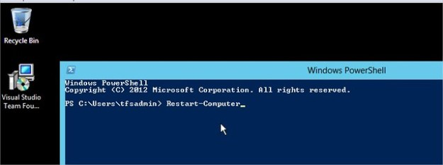 PowerShell Restart-Computer command