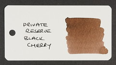 Private Reserve Black Cherry - Word Card