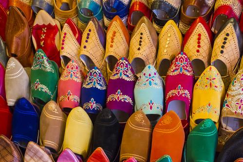 Schuhe in Essaouira