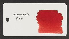 Noodler's Red - Word Card
