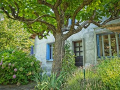 French house in the Cevennes