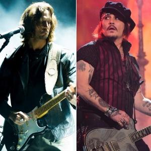 Brichta mistura Johnny Depp e Chris Cornell para viver roqueiro na Globo