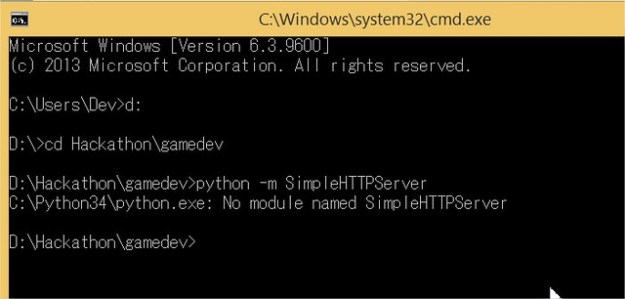 Python - No Module named SimpleHTTPServer