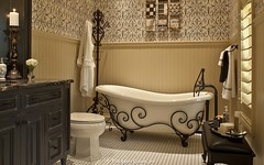 European Home by Dan Sater antique bath tub