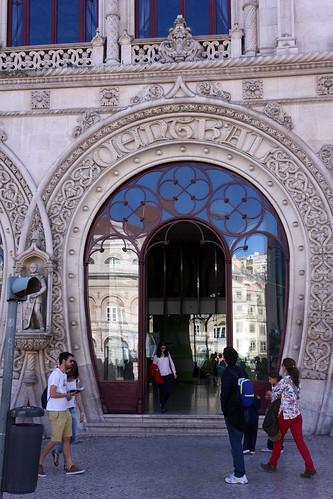 Lisbonne - Rossio station