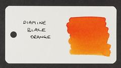 Diamine Blaze Orange - Word Card