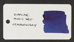Diamine Music Set Tchaikovsky - Word Card