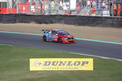 Martin Depper during the BTCC Brands Hatch Finale Weekend October 2016