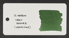 J. Herbin Vert Empire - Word Card