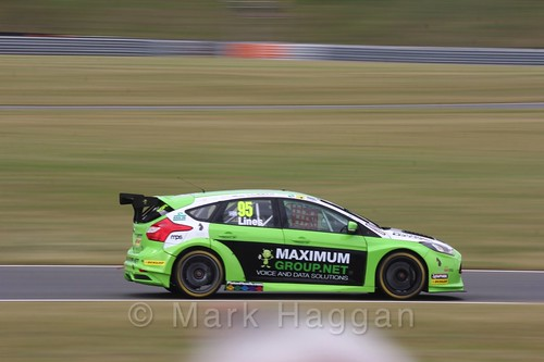 Stewart Lines in Touring Car action during the BTCC 2016 Weekend at Snetterton