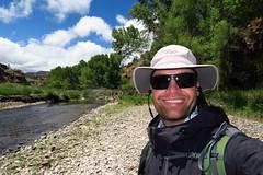 Entering the Gila River