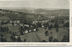 Stroud and Severn Valleys from Fort St George Private Boarding House