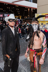 "Lone Ranger and Tonto #cosplay #C2E2 2015 • <a style=""font-size:0.8em;"" href=""http://www.flickr.com/photos/33121778@N02/16686374073/"" target=""_blank"">View on Flickr</a>"