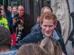 Prince Harry at Canterbury University