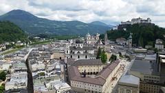 Salzburg  vew from Mönchsberg