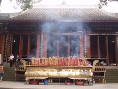 The incense offerings