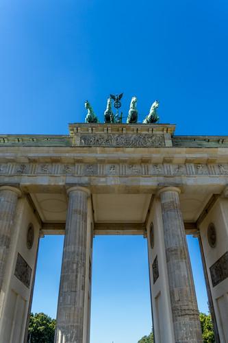 Berlin porte de Brandenburg