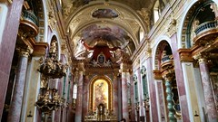 Jesuit's church going for baroque