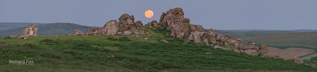 Bonehill Summer Moonset