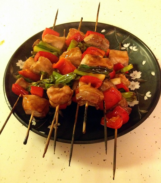 low-carb skewers